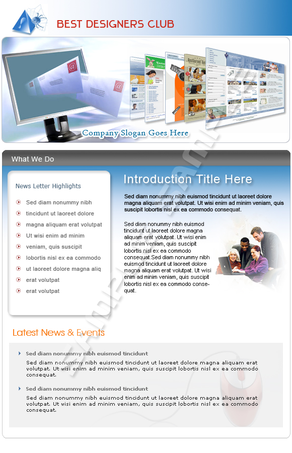 email marketing templates .